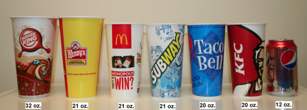 Medium Drink Sizessource: fastfoodsizes.org
