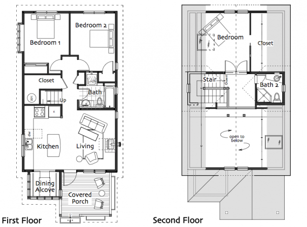 Ross Chapin Small House Floor Plans