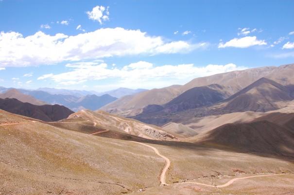 Road in Northwestern Argentina, 2012
