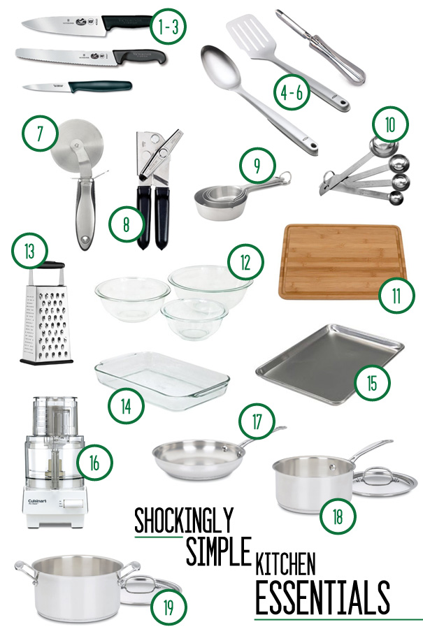 Kitchen Design Gallery Cooking Items List