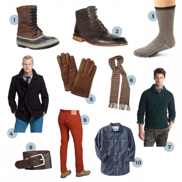 10 Winter Clothing Essentials for Men