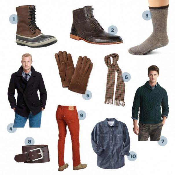 10 Winter Clothing Staples For Men