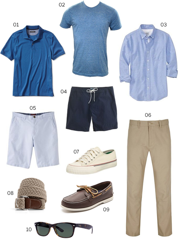 0ed1fbc93bbe Casual T-shirts  American Apparel Poly-Cotton T-shirts 03. Oxford Cloth  Button Downs (OCBD)  Old Navy Slim-Fit Oxford Shirt